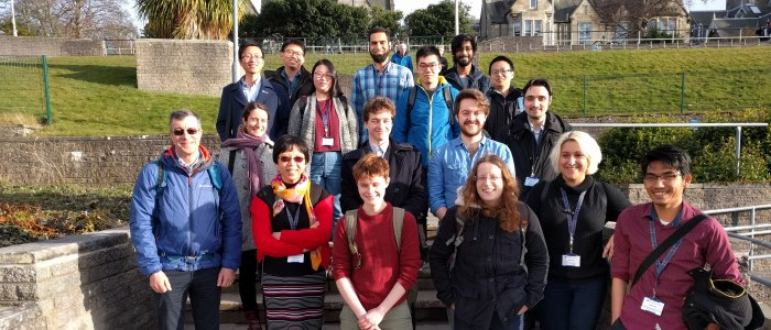 Group picture of SofTMech attendees at BAMC 2018 St Andrews